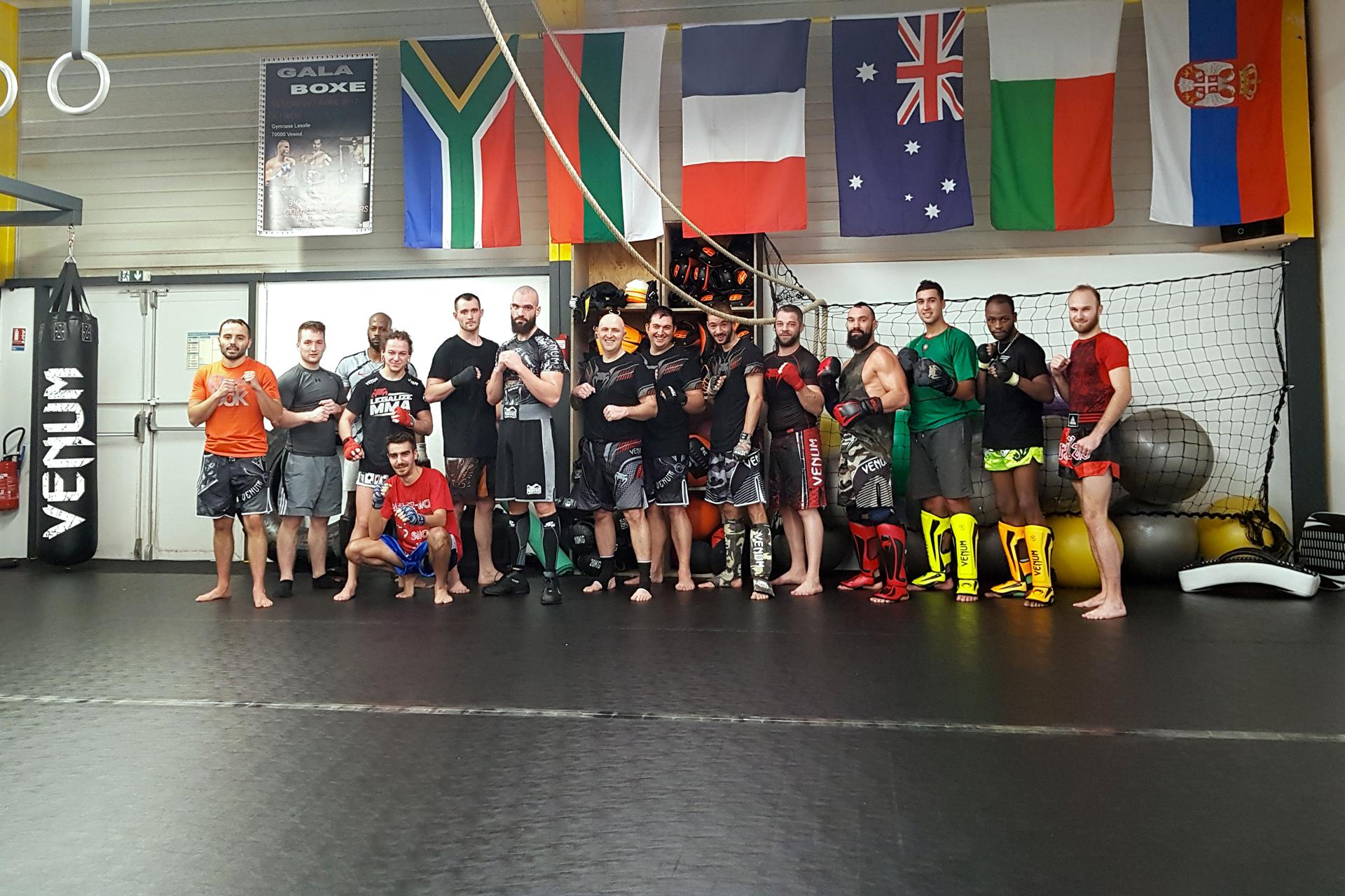 Boxe avec Team Radeff